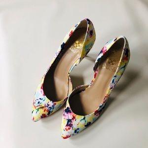Vince Camuto Halona Floral Heel - Size 8.5
